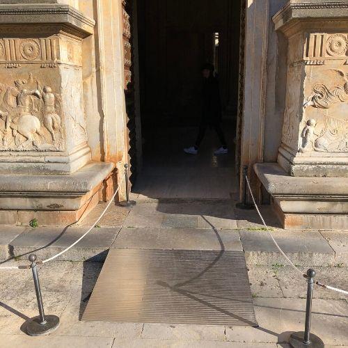 Accessible Alhambra charles v palace entrance
