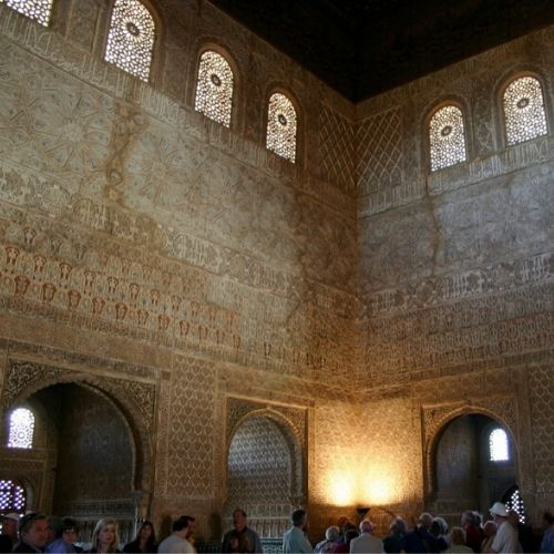 Accessible Alhambra comares hall of ambass