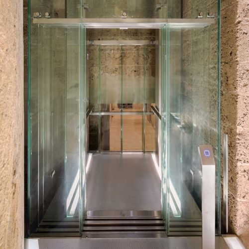 Accessible Alhambra elevator