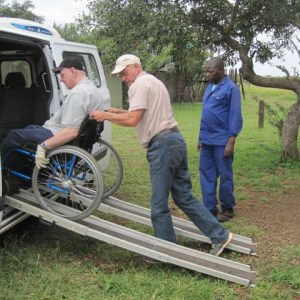 Adapted vehicle in South Africa