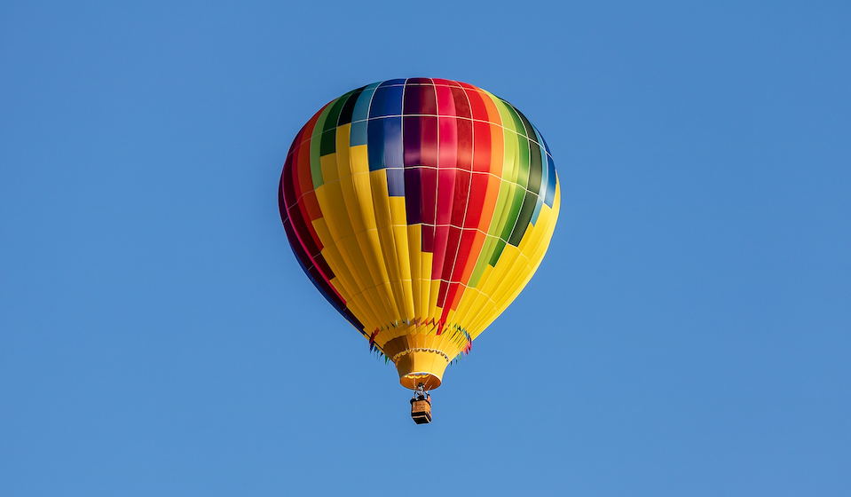 Accessible hot air balloon flight Spain, Barcelona