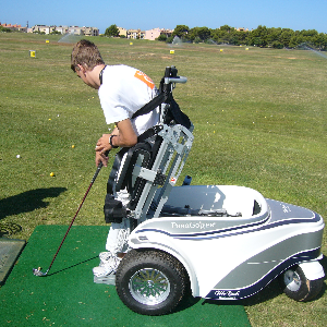 Accessible paragolfer