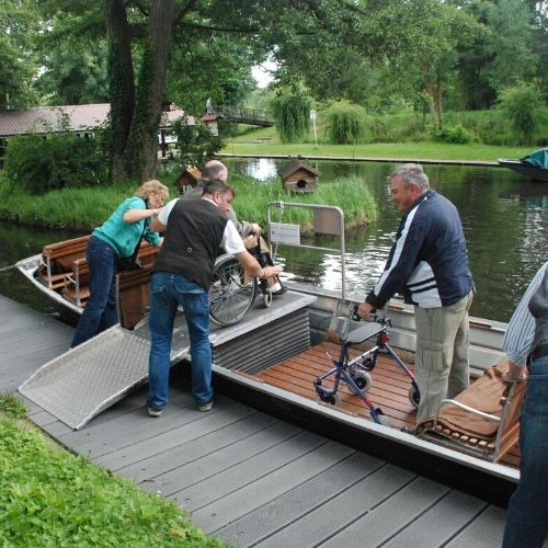 Accessible spreewald accessible boat
