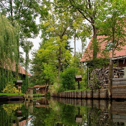 Accessible spreewald surroundings