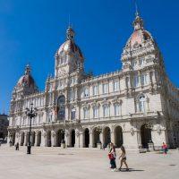 Accessible tour santiago la coruna - city hall