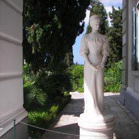 Achilleion tour sissi statue