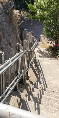Acropolis Stairs