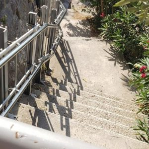 Acropolis stairs lift