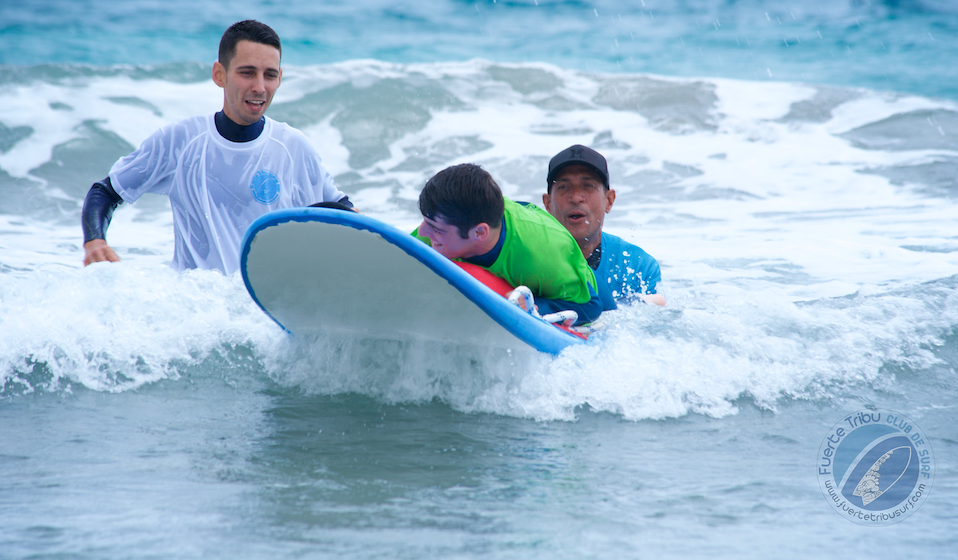 Adapted Surf Clinic Fuerte Ventura Spain