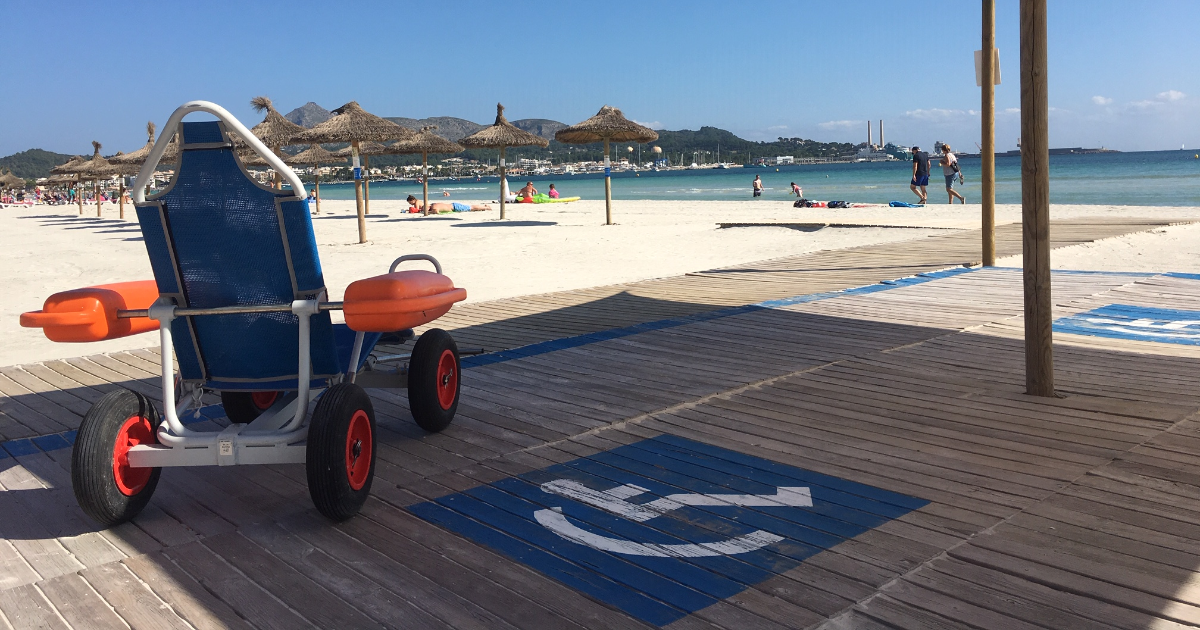 Alcudia Accessible Beach