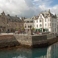 Alesund town
