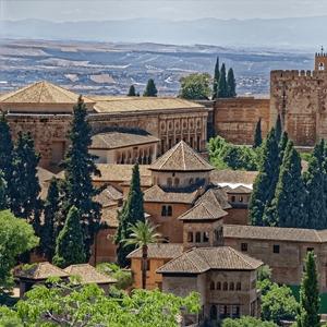 Alhambra visit view