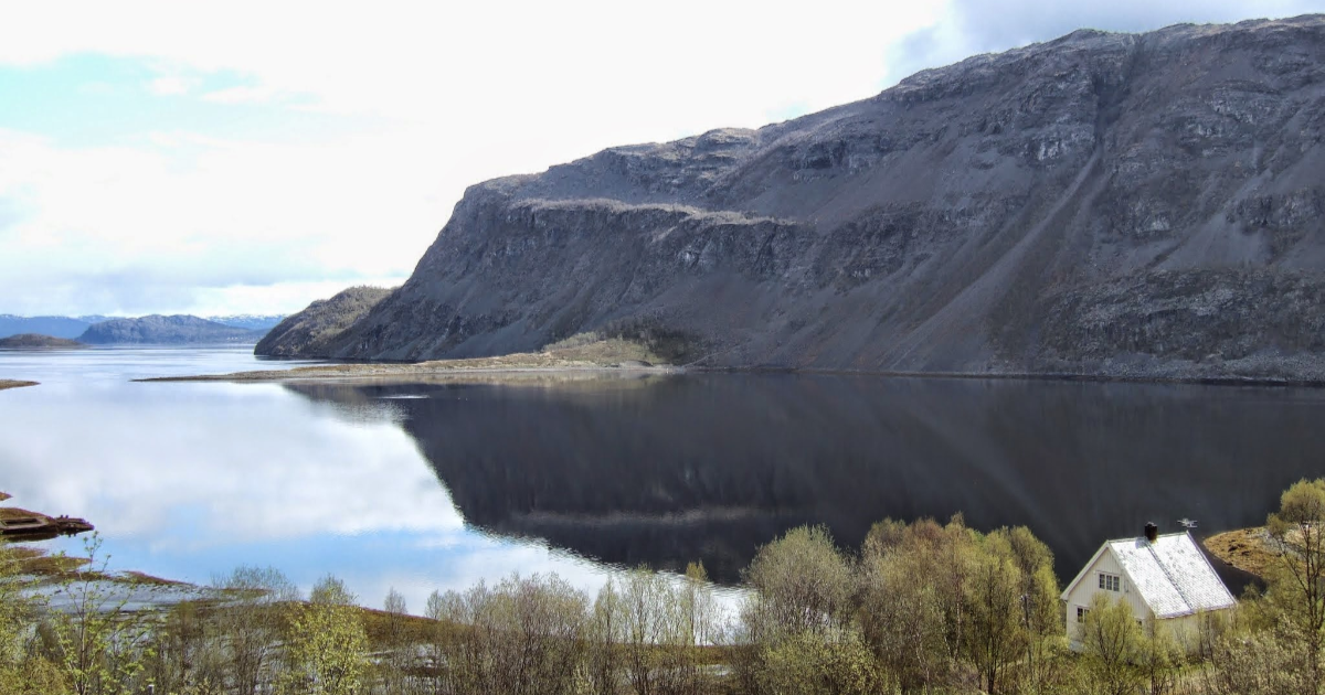 Alta Norway panoramic view