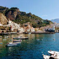 Amalfi Town Ocean View