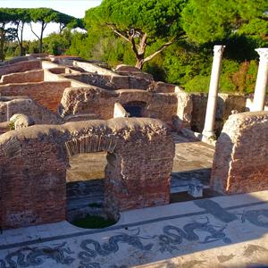 Ancient Ostia Ruins