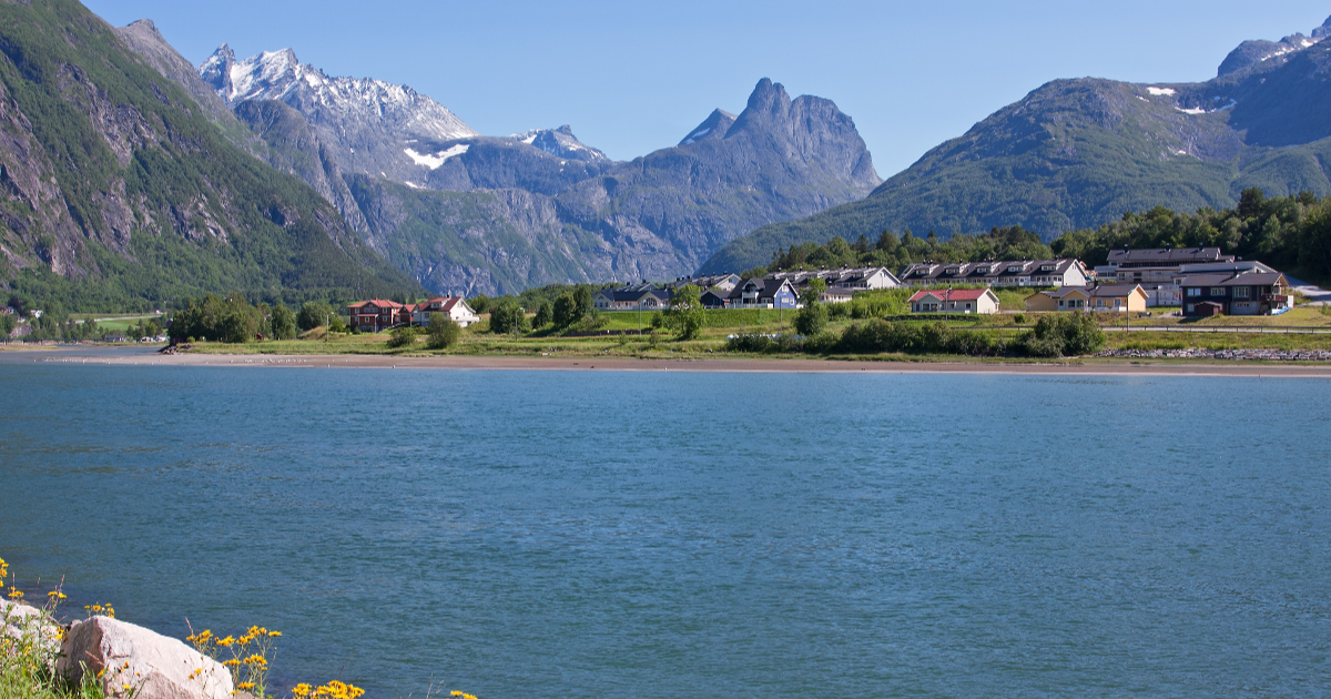 Andalsnes Norway Panoramic View