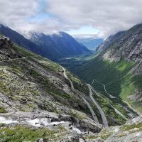Andalsnes troll wall