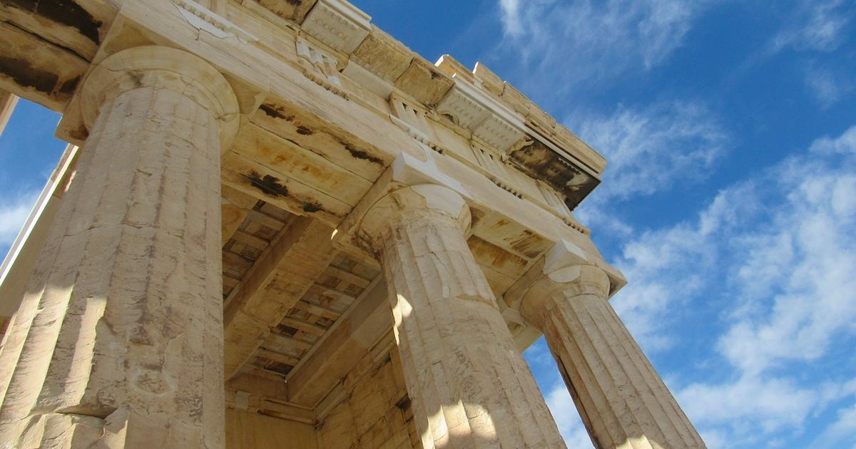 Athens Acropolis Ancient Site