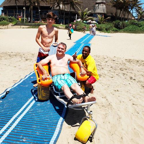 Beach days on Safari