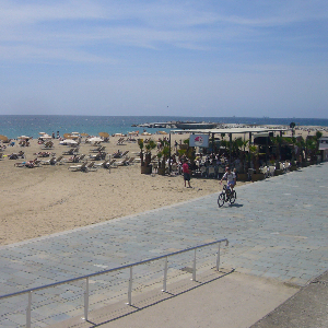 Bogatell Beach Accessible Ramp