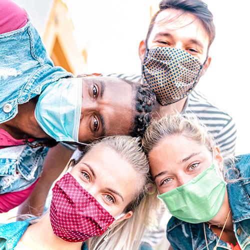 COVID update face masks