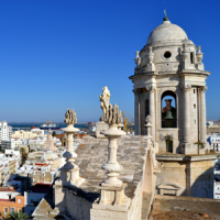 Cadiz View over the City