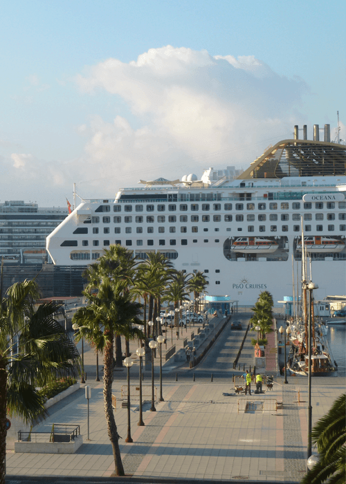 Cartagena cruise port flat service