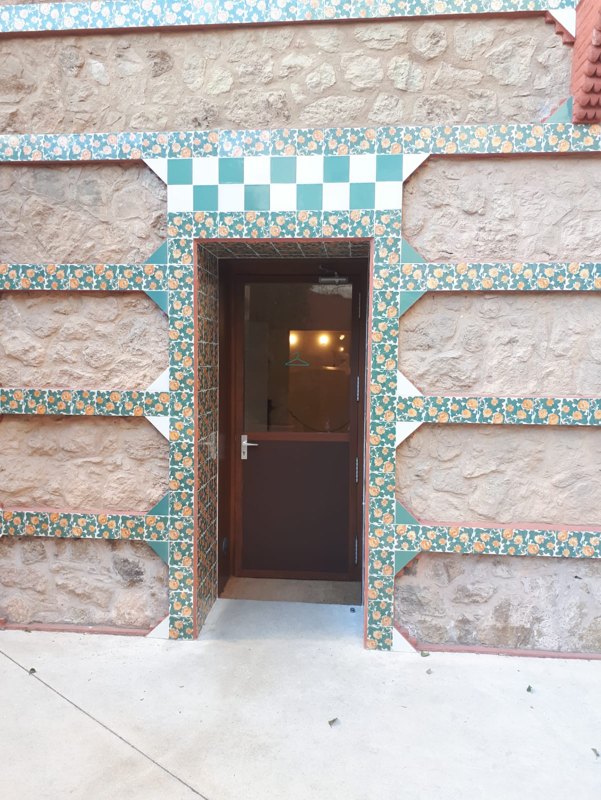 Casa Vicens Accessible Entrance