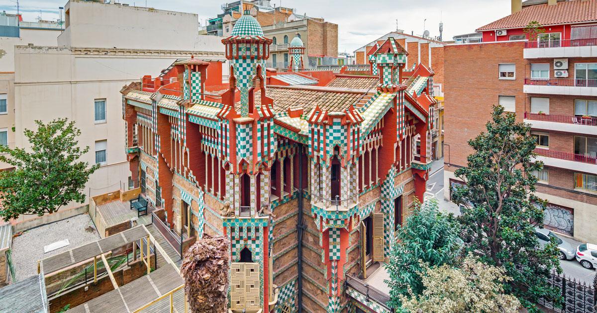 Casa Vicens Hero visual