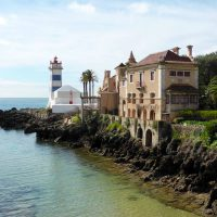 Cascais lighthouse view