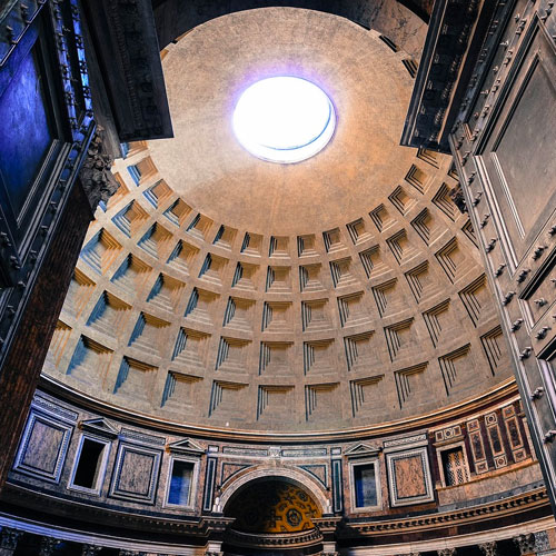 Ceiling Pantheon Rome