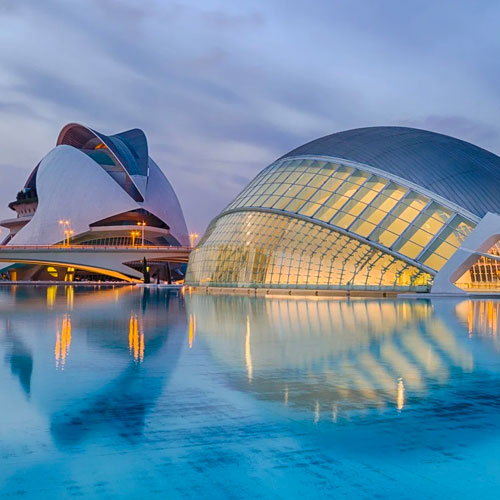 City of arts and science Valencia