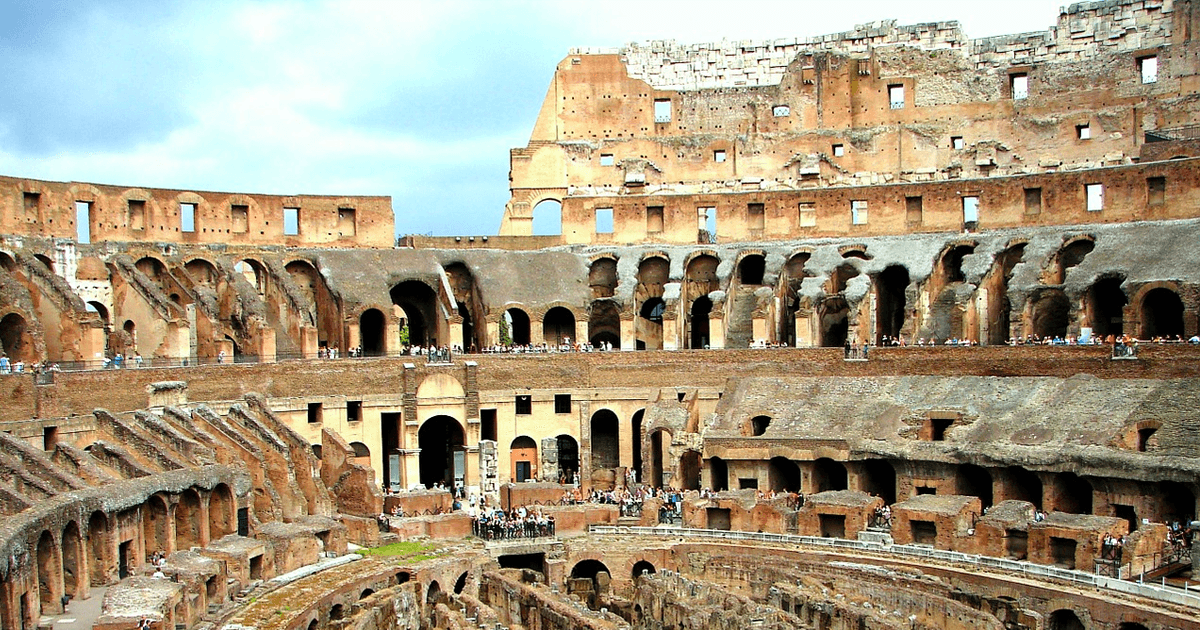 Colosseum Inside View