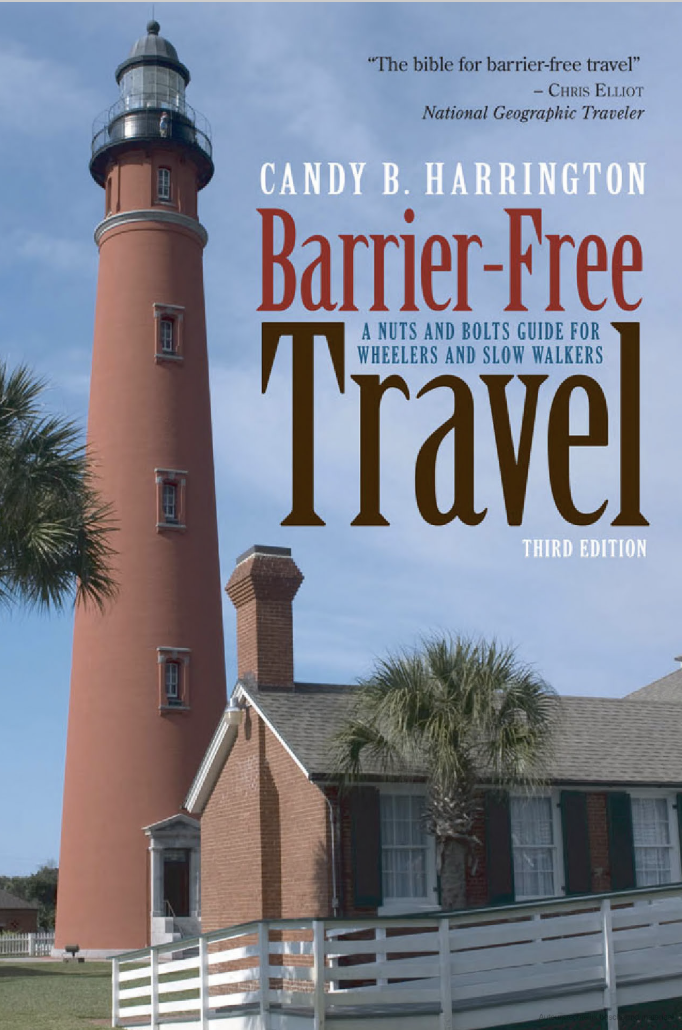 Cover of Barrier-Free Travel Guide by Candy B Harrington
