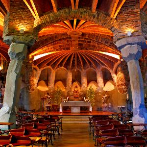 Crypt Colonia Güell Gaudi