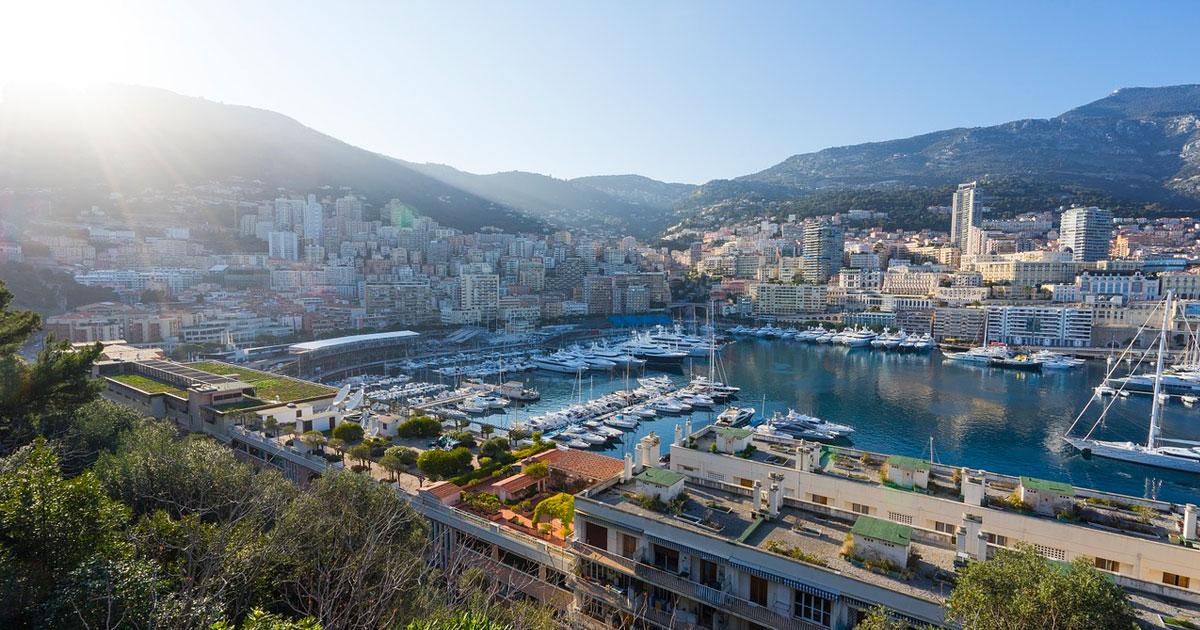 Discover beautiful Monaco Hero