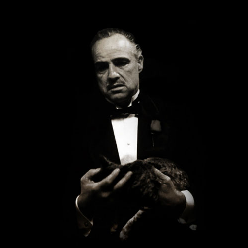 Don Corleone from the Godfather
