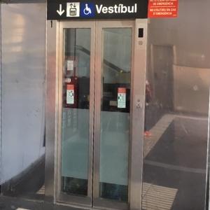 Elevator Entrance Metro