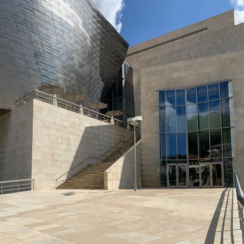 Entrance Guggenheim