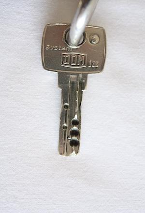 Euro key front