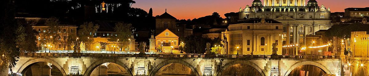 Explore the wheelchair accessible eternal city Rome by night