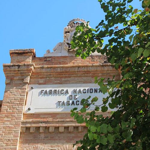 Fabrica de tabaco in Cadiz