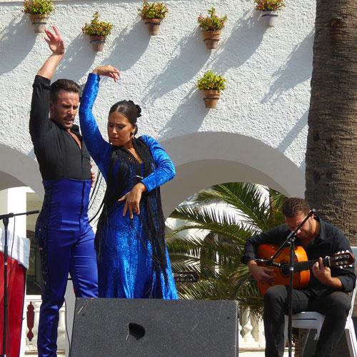 Flamenco Dance Sacromonte-Hill