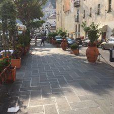 Flat streets Amalfi