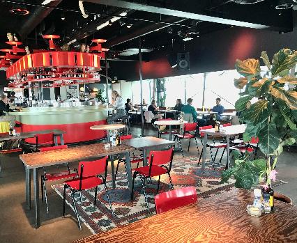 Canvas wheelchair accessible restaurants Amsterdam