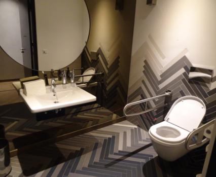Mama Makan accessible toilet