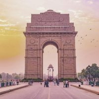 Golden Triangle India India gate