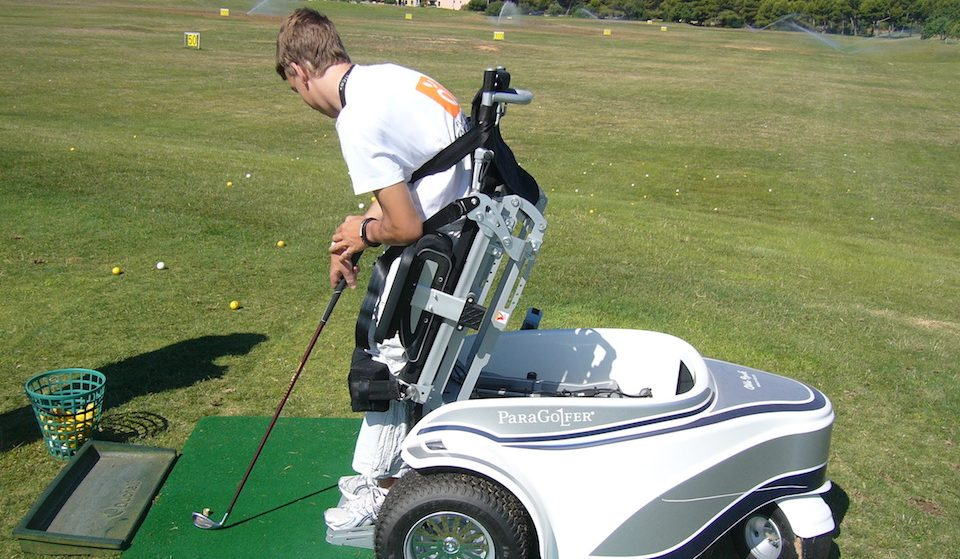 Adapted golf vehicle Mallorca accessible sports activities