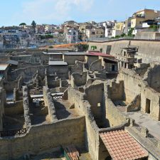 Herculaneum from above