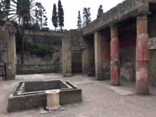 Herculaneum inside